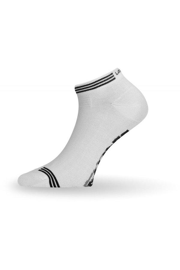 Bílé pánské ponožky Lasting - velikost 34-37 EU