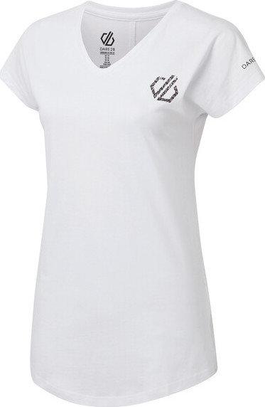 Bílé dámské tričko s krátkým rukávem Dare 2b