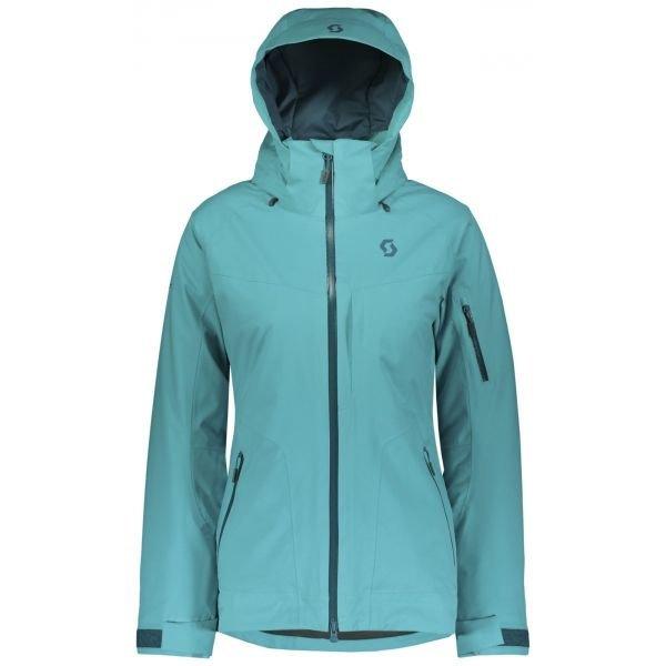 Modrá zimní dámská bunda Scott