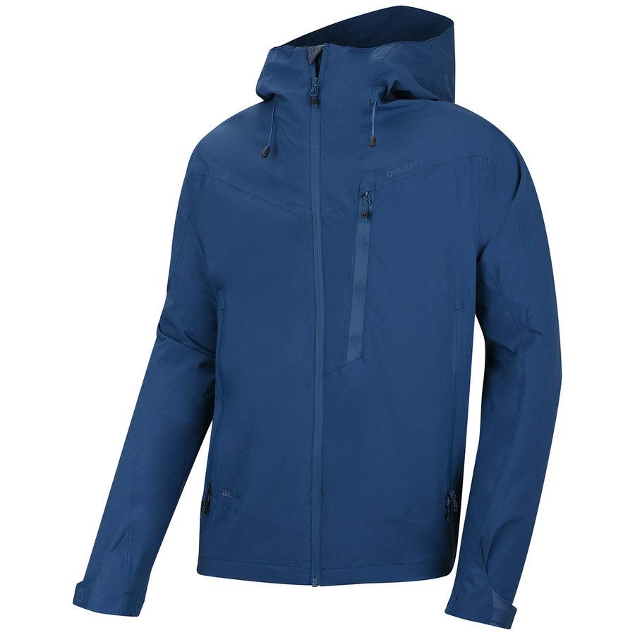 Modrá hardshellová pánská bunda Husky - velikost L