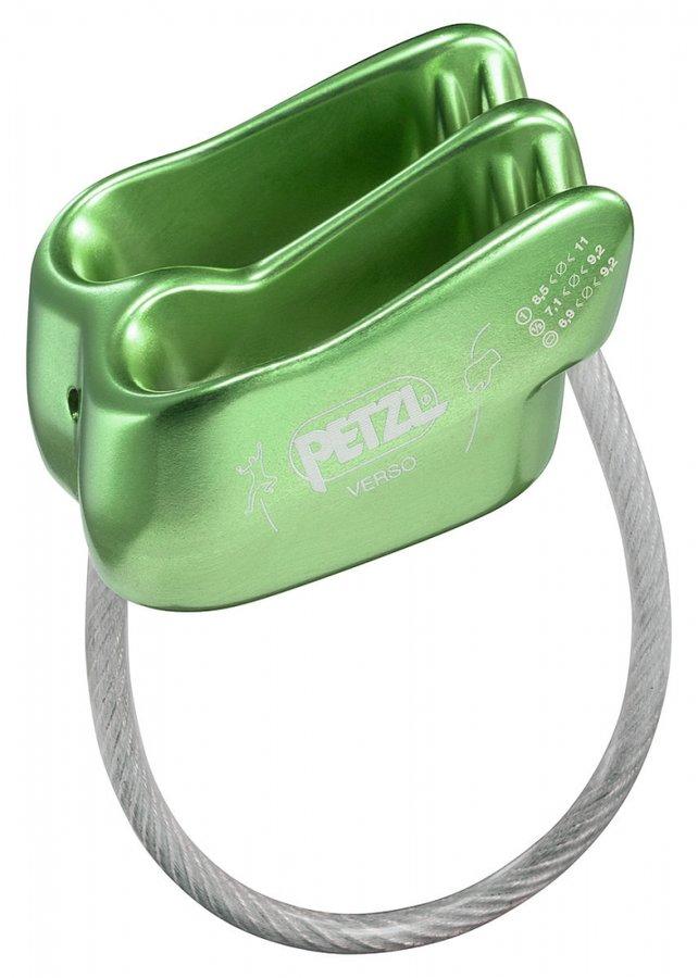 Zelené jistící zařízení Petzl