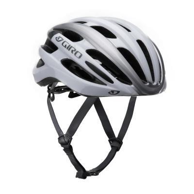 Stříbrná cyklistická helma Giro