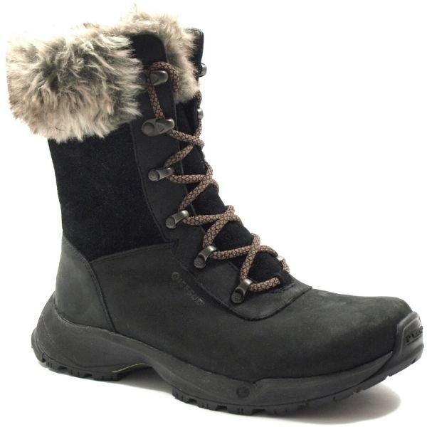 Černé dámské zimní boty Crossroad