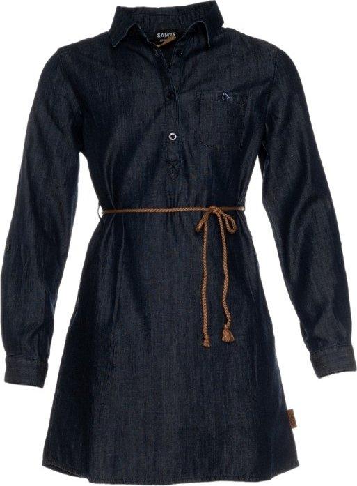 Modré dívčí šaty Sam 73 - velikost 140