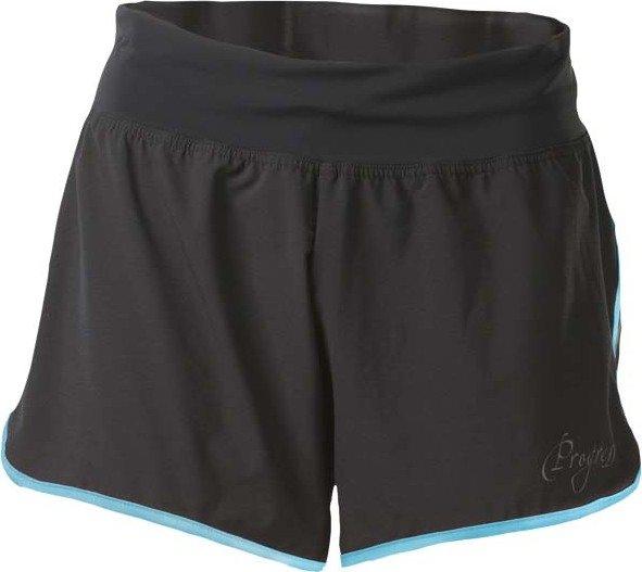 Černé sportovní dámské kraťasy Progress - velikost XL