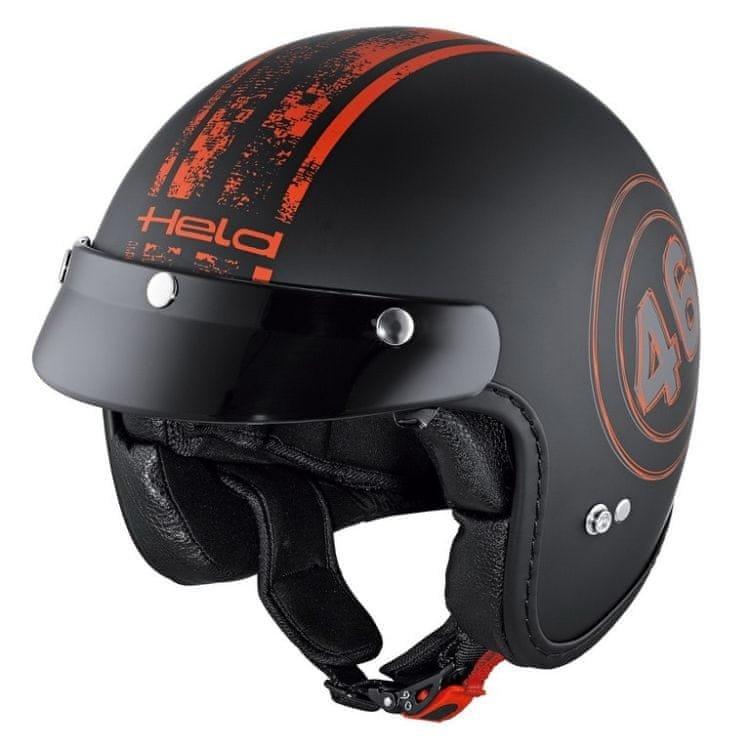 Helma na motorku Held