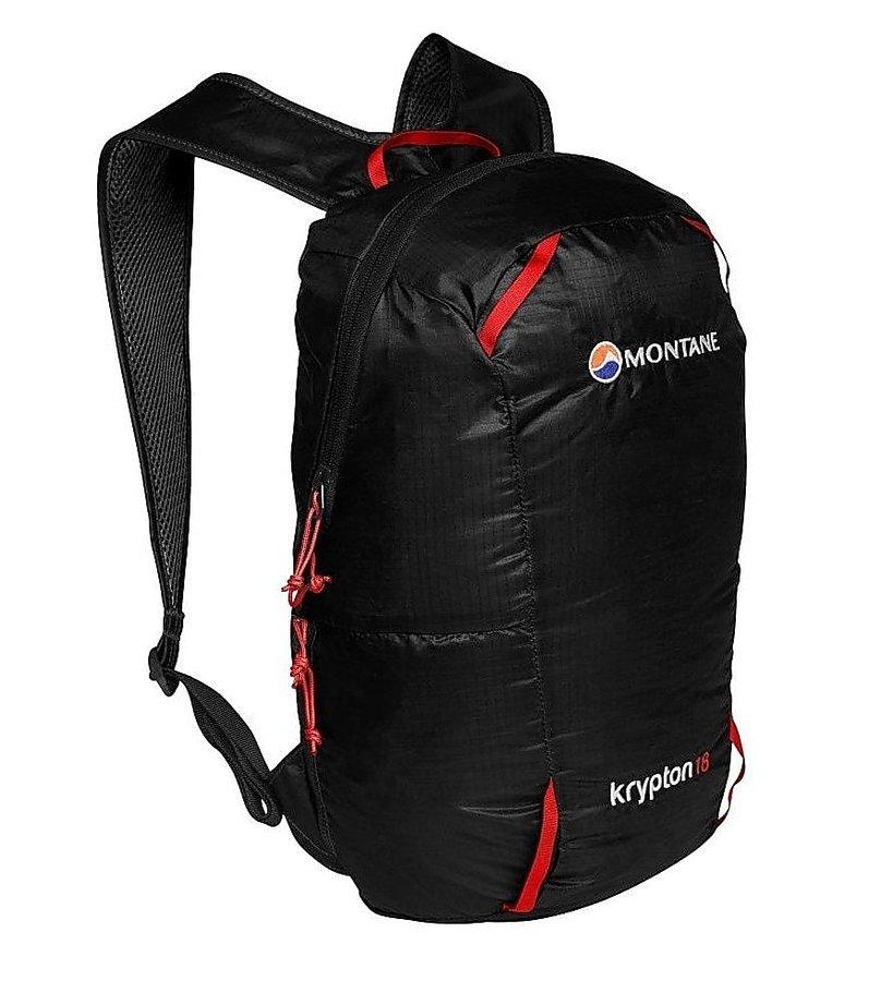 Černý turistický batoh Montane - objem 18 l