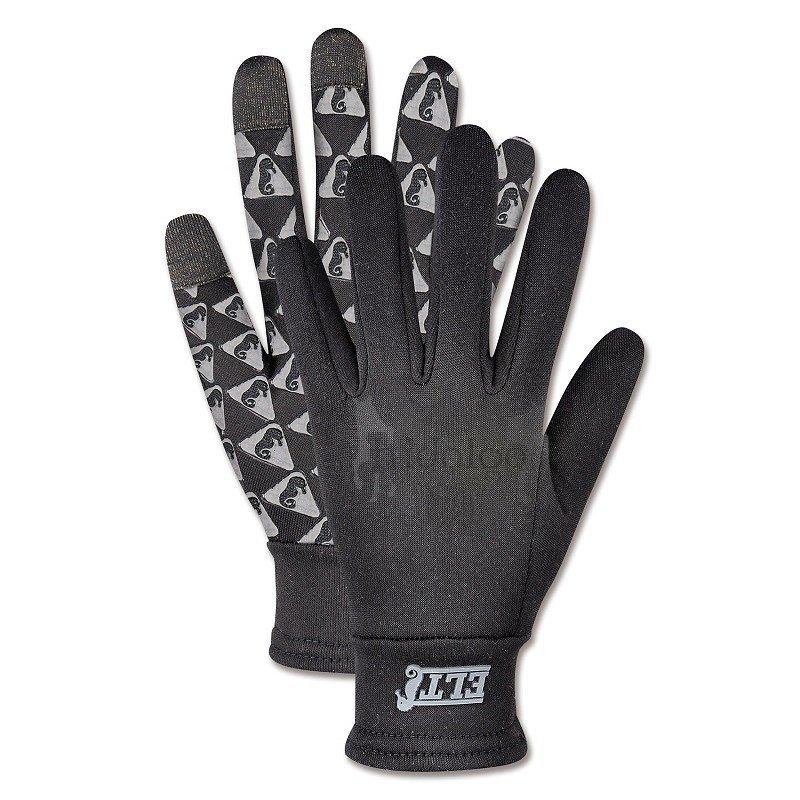 Černé jezdecké rukavice Geneva, ELT