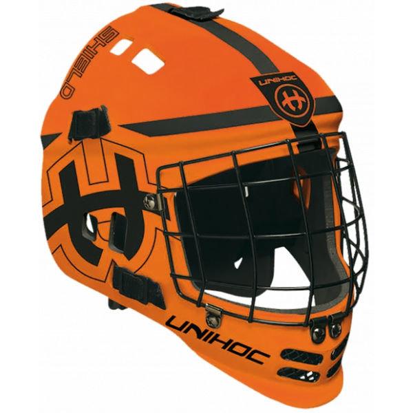Brankářská florbalová maska - Unihoc SHIELD MASK NS - Florbalová helma