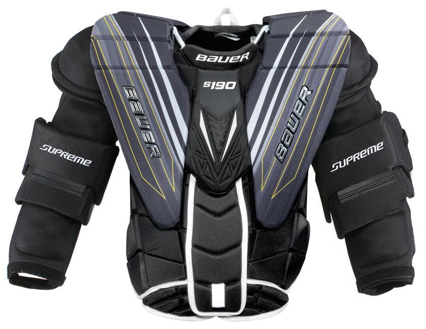 Brankářská hokejová vesta - Brankářská vesta Bauer SUPREME S190 Senior Velikost: XL