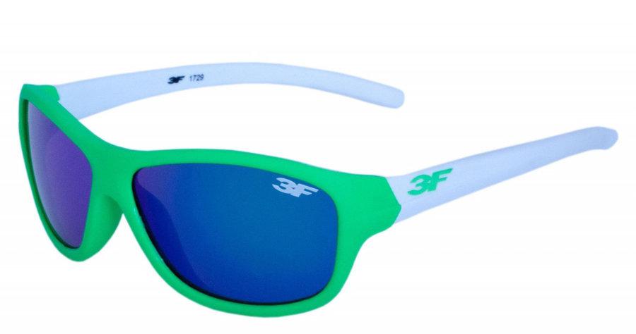 Polarizační brýle - Dětské brýle 3F Rubber 7 1729 Barva obrouček: zelená/bílá
