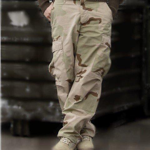 Kalhoty - Kalhoty US BDU POLY polní 3-COL DESERT