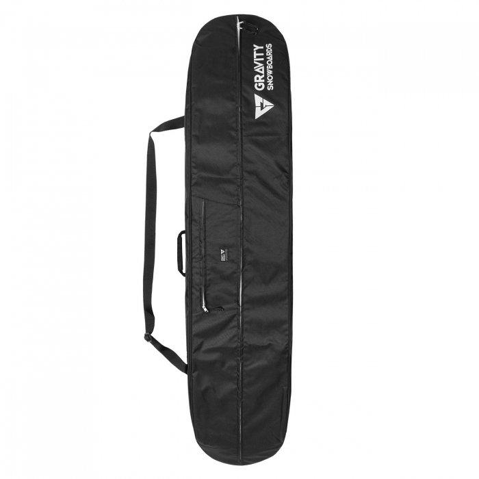 Černý obal na snowboard Gravity
