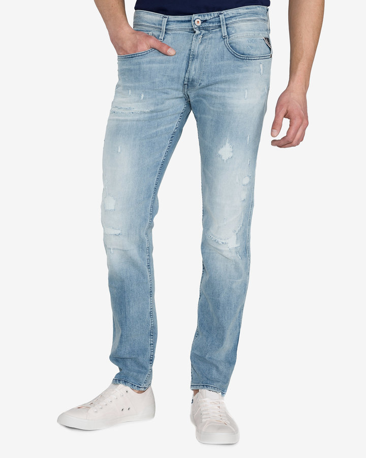Modré pánské džíny Replay