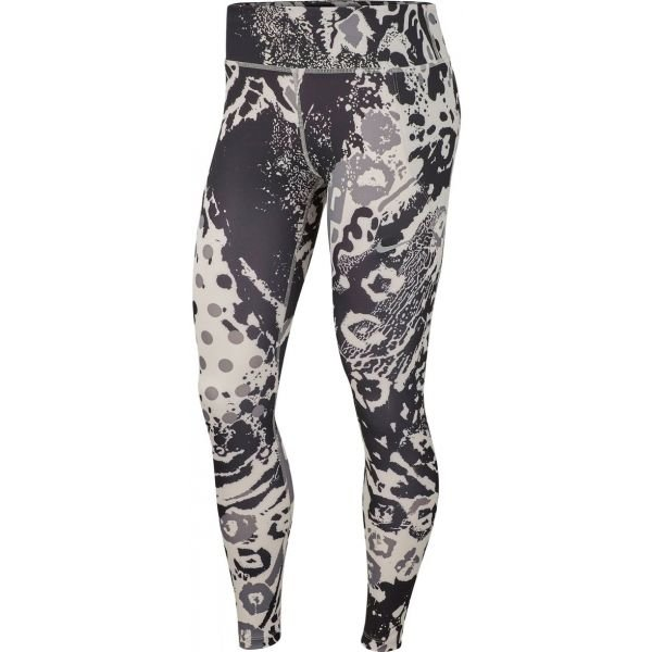 Bílo-černé dámské legíny Nike