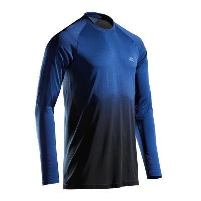 Modré pánské běžecké tričko Kalenji - velikost XXL