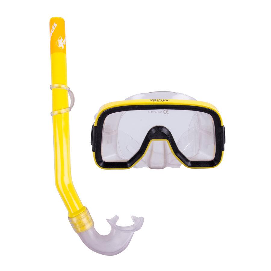Potápěčská sada - Sada na potápění Francis Zenit Set SR žlutá