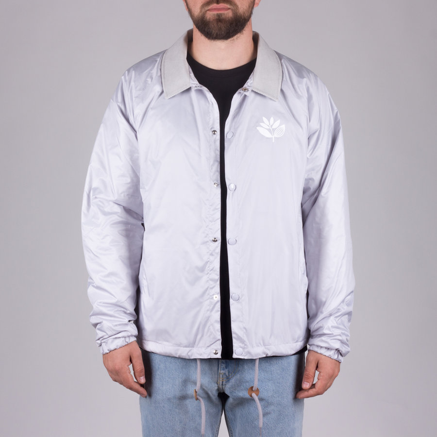 Šedá pánská bunda Magenta - velikost M