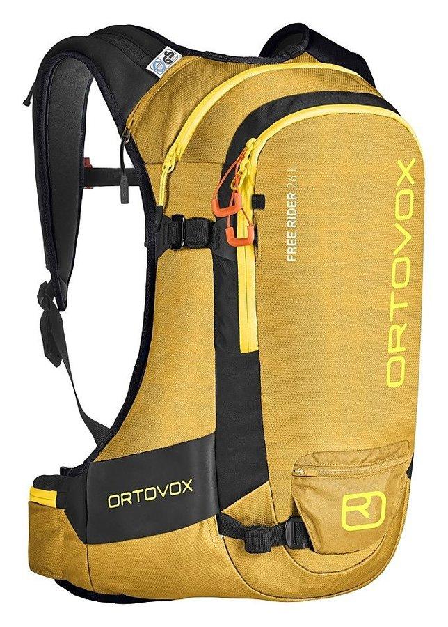 Žlutý skialpový batoh Ortovox - objem 26 l