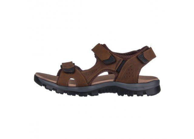 Hnědé sandály Selma