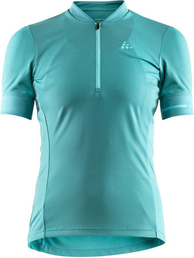 Modrý dámský cyklistický dres Craft - velikost L
