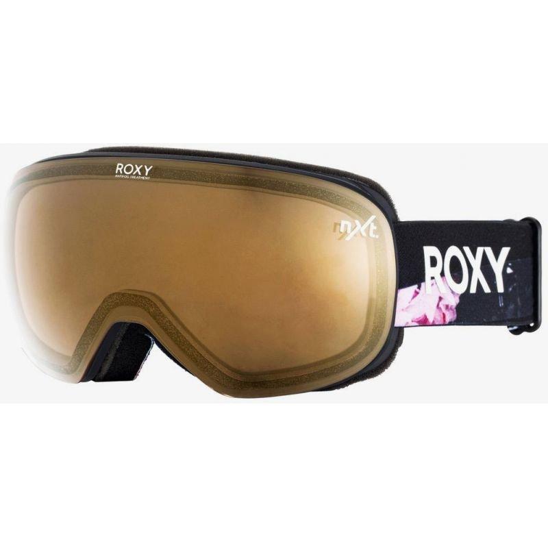 Černé brýle na snowboard Roxy