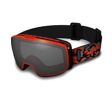 Červené dětské lyžařské brýle Briko