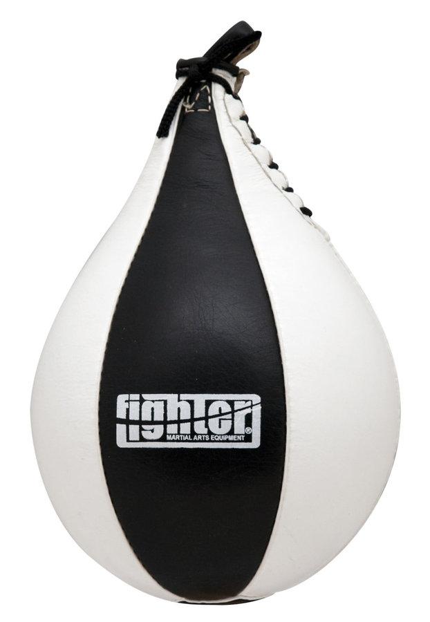 Černá závěsná boxovací hruška Fighter