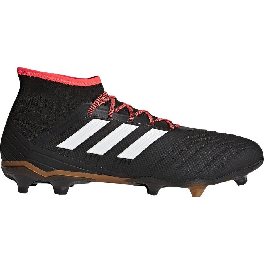 Černé kopačky lisovky Predator 18.2 FG, Adidas - velikost 42 EU