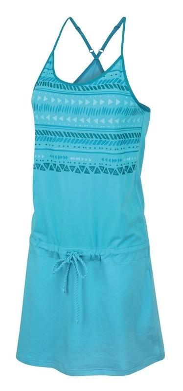 Modré dámské šaty Hannah - velikost 40