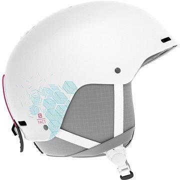 Bílá dámská lyžařská helma Salomon - velikost 56-59 cm