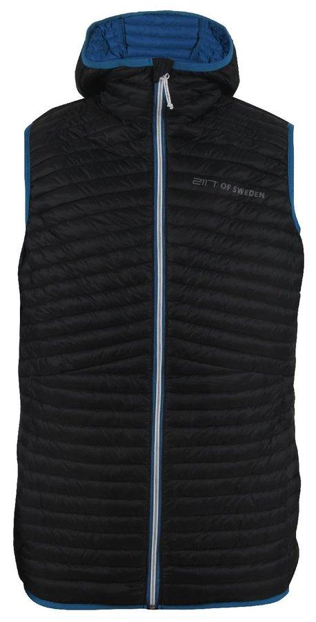 Vesta - BIERKE - pánská péřová vesta - černá
