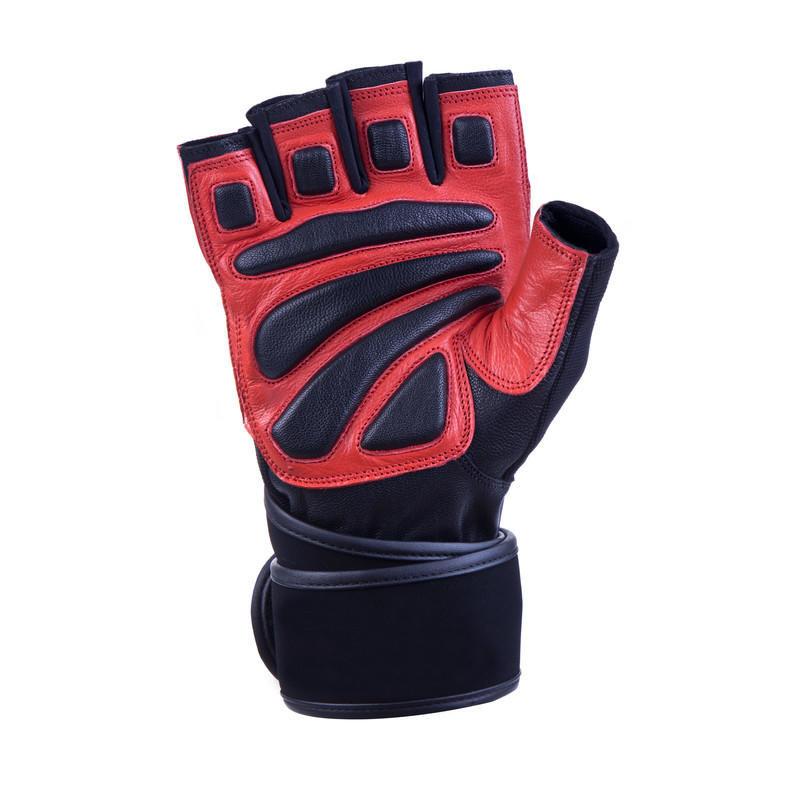 Černo-modré fitness rukavice Spokey - velikost L