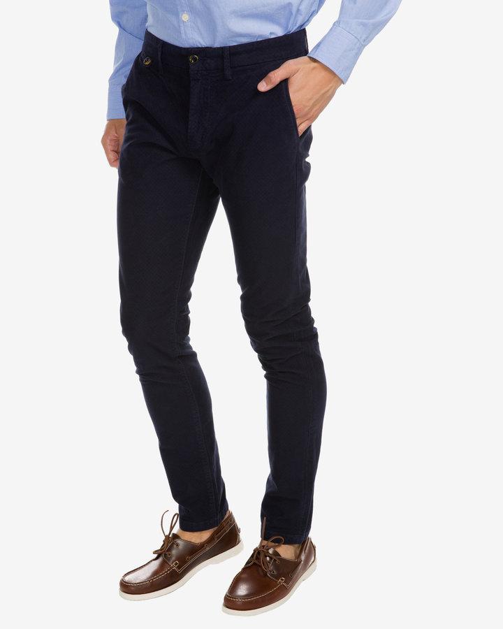 Kalhoty - James Moleskin Kalhoty Pepe Jeans