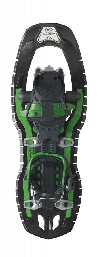 Černo-zelená sněžnice TSL - délka 59 cm