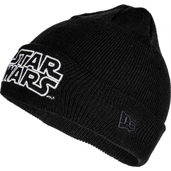 Černá dětská zimní čepice New Era