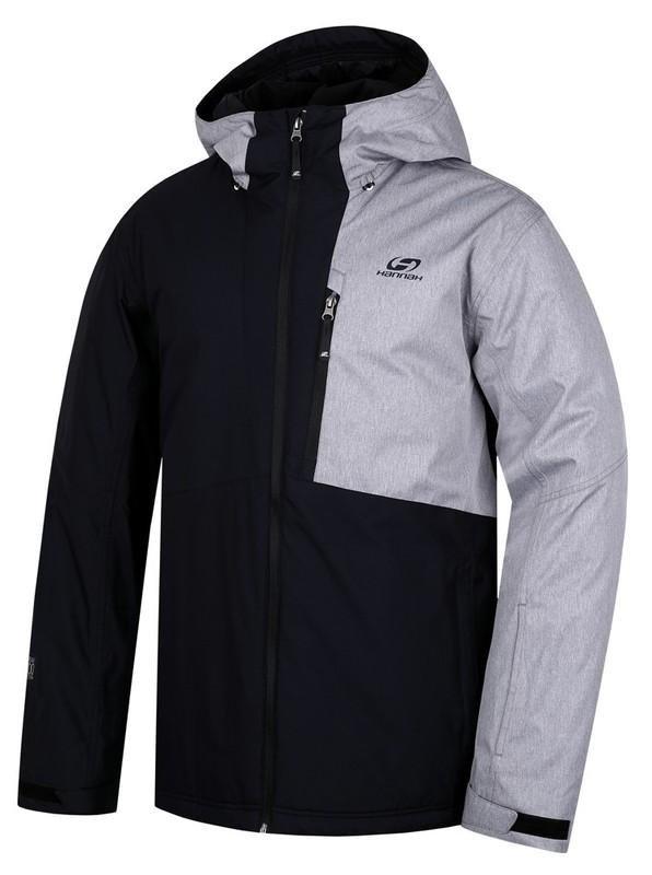 Černá pánská lyžařská bunda Hannah - velikost XXL