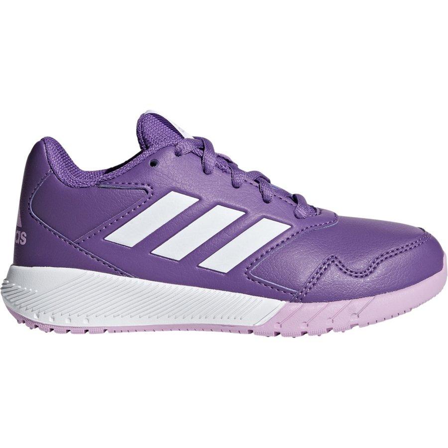 Fialové dívčí běžecké boty Adidas - velikost 35,5 EU