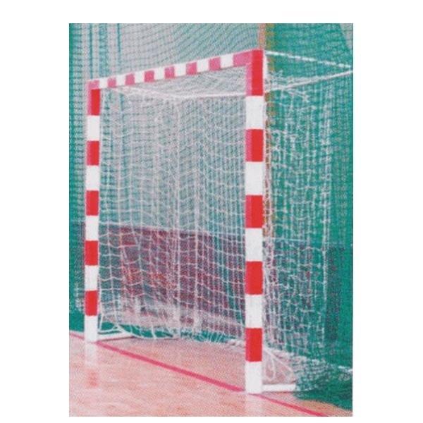 Branka na házenou Sportclub - šířka 300 cm, výška 200 cm, hloubka 120 cm a tloušťka 3 mm, Síť na házenou Sportclub - šířka 300 cm, výška 200 cm, hloubka 120 cm a tloušťka 3 mm