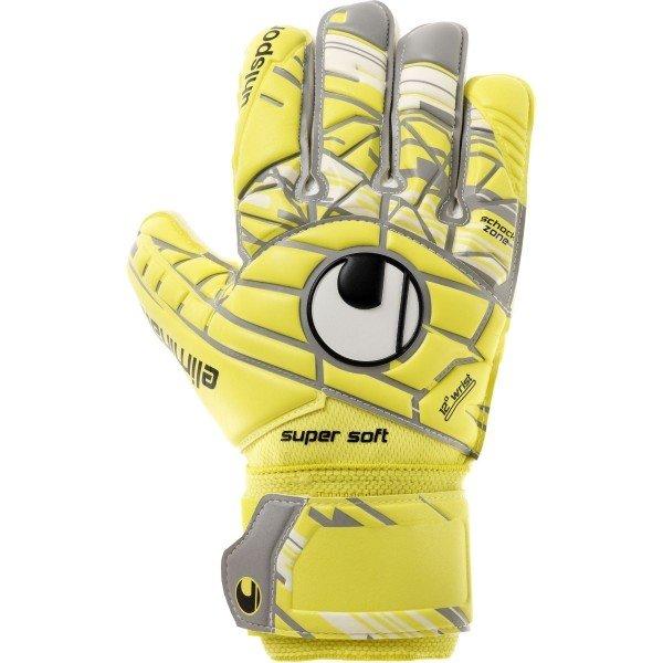 Žluté pánské brankářské fotbalové rukavice Uhlsport