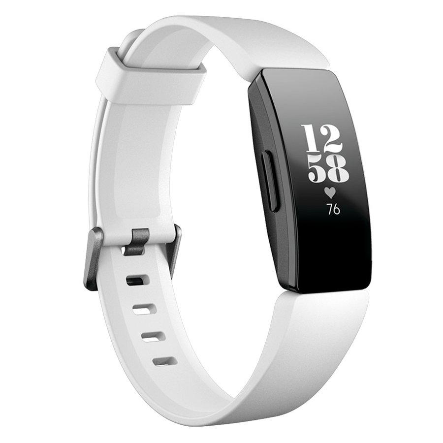 Bílo-černý fitness náramek Inspire, Fitbit