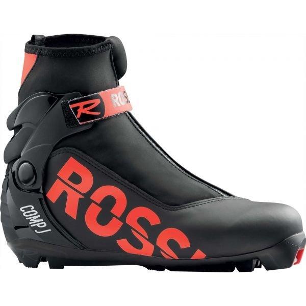 Černé dětské boty na běžky Rossignol - velikost 35 EU