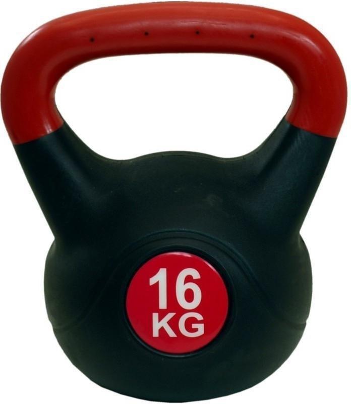 Kettlebell - Činka KETTLEBELL PLAST 16 KG