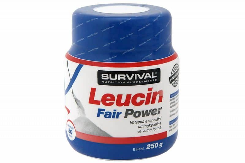 L-Glutamin - Glutamin Fair Power + Leucin Fair Power