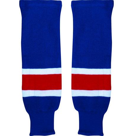 Modré hokejové štulpny - senior Warrior
