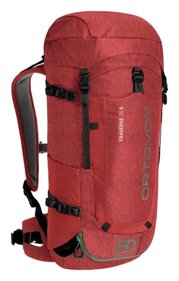 Červený turistický batoh Ortovox - objem 28 l