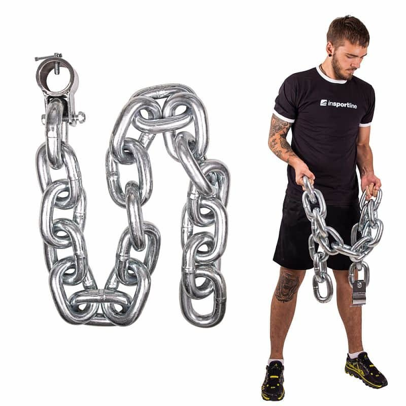 Vzpěračský řetěz inSPORTline - 25 kg