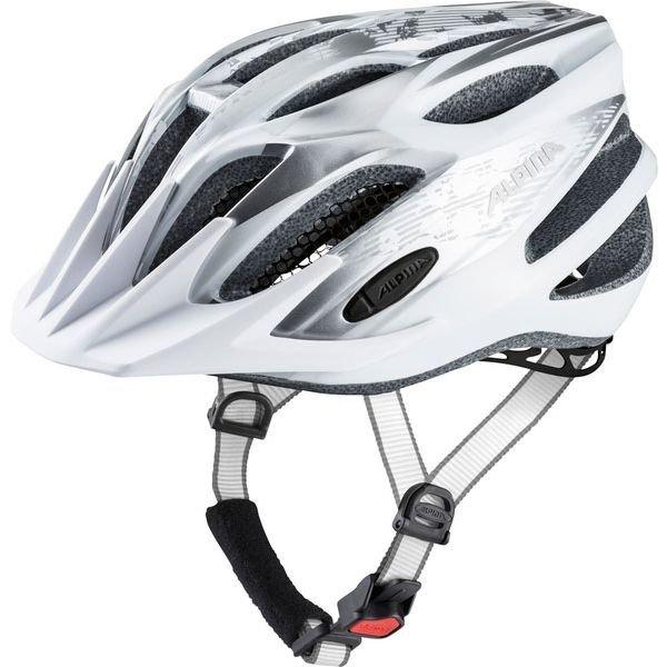 Bílá cyklistická helma Alpina - velikost 53-58 cm