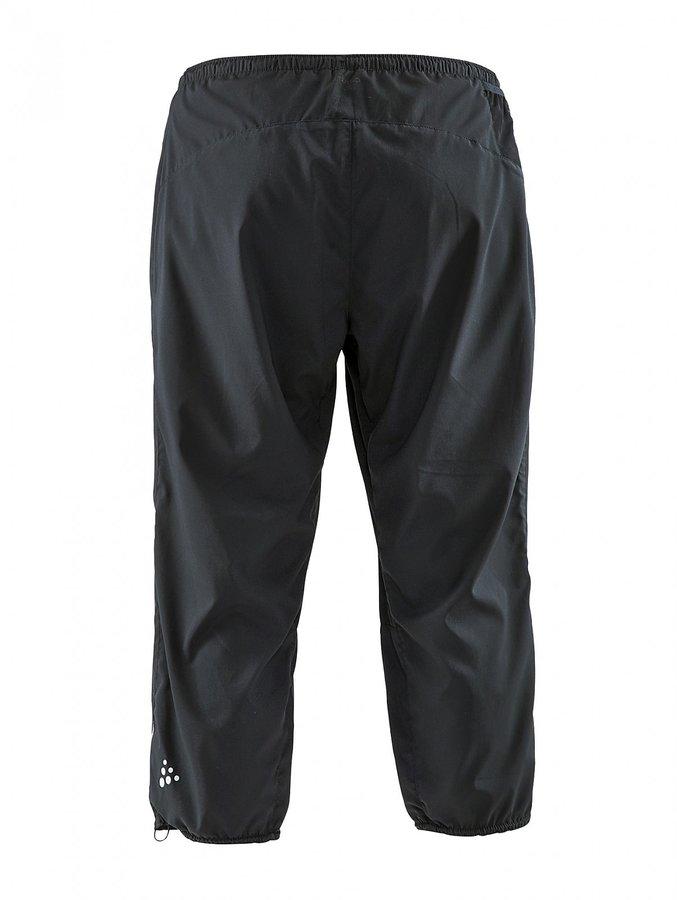 Černé 3/4 dámské turistické kalhoty Craft - velikost S