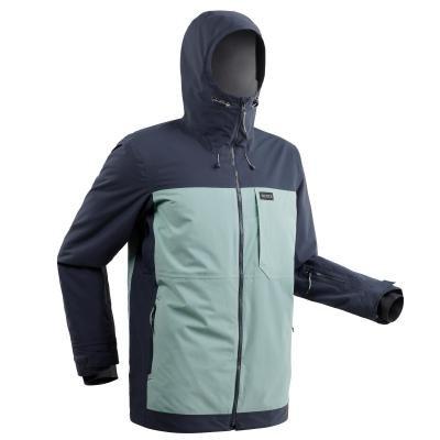 Modrá pánská snowboardová bunda Wed'ze - velikost XXL